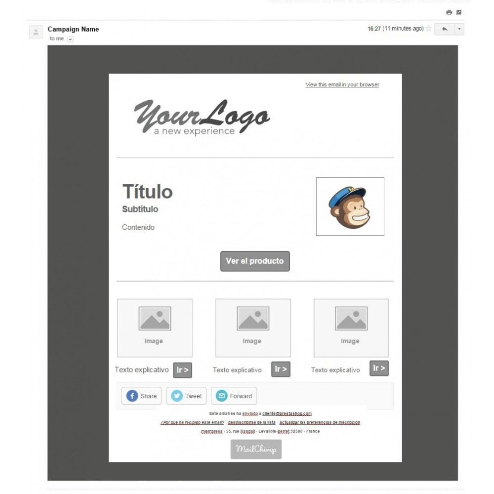 bundle - Nuestras ofertas actuales - ¡Aprovecha y ahorra! - Pack Ventas : Boletines de Mailchimp + Pop-ups promocionales + Etiquetas y pegatinas personalizables - 3