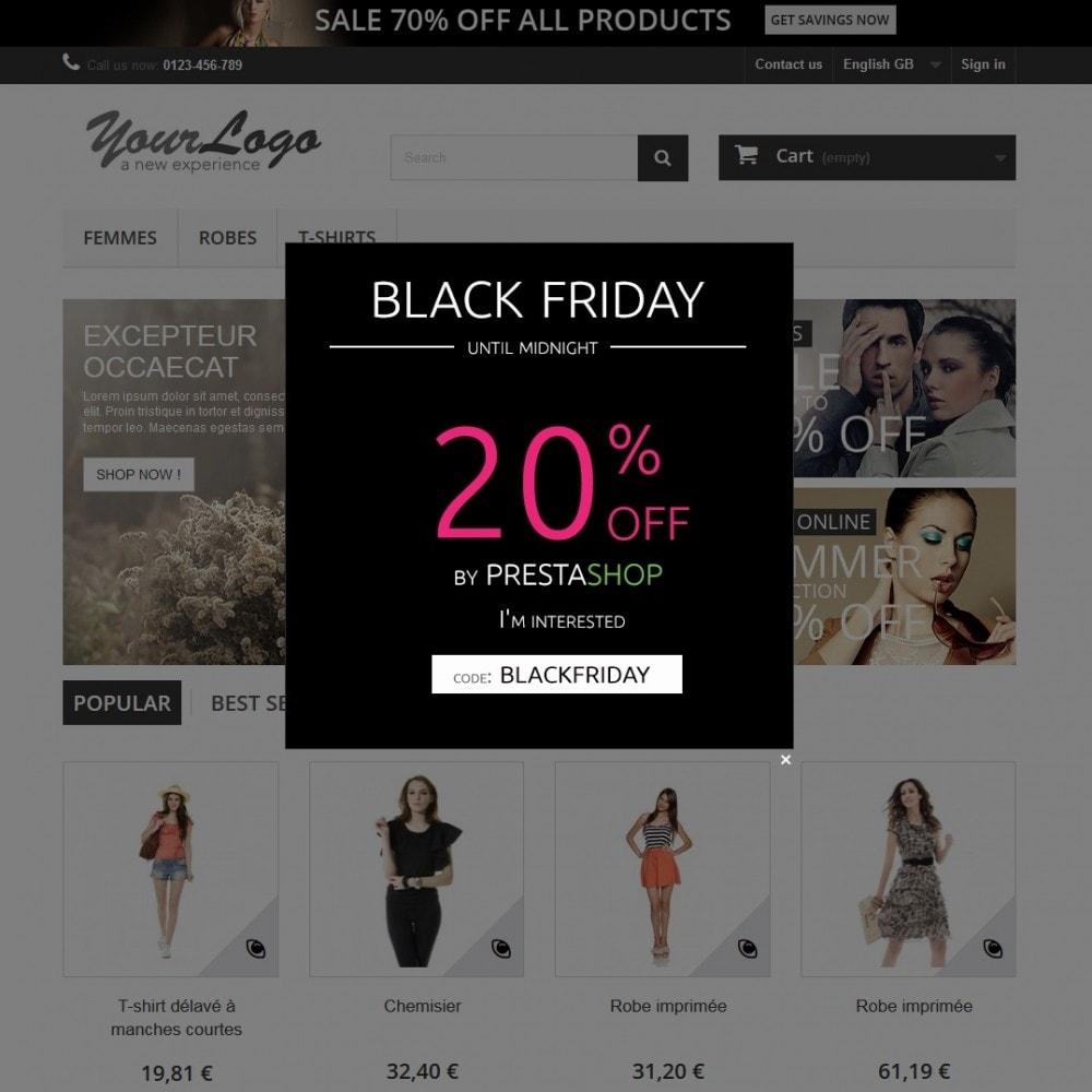 bundle - Nuestras ofertas actuales - ¡Aprovecha y ahorra! - Pack Ventas : Boletines de Mailchimp + Pop-ups promocionales + Etiquetas y pegatinas personalizables - 4