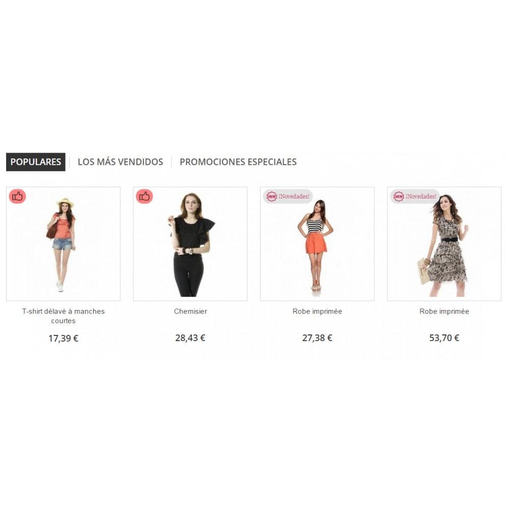 bundle - Nuestras ofertas actuales - ¡Aprovecha y ahorra! - Pack Ventas : Boletines de Mailchimp + Pop-ups promocionales + Etiquetas y pegatinas personalizables - 5