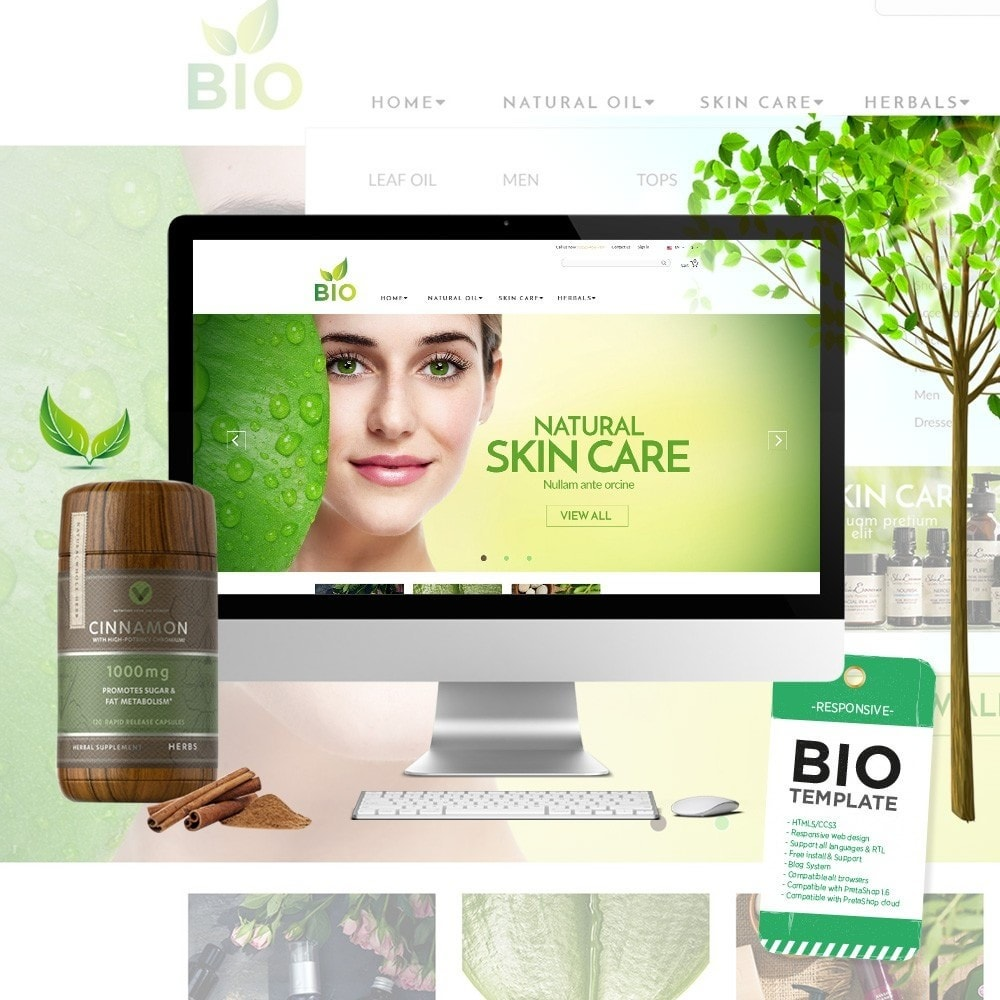 theme - Health & Beauty - Water - Bio Medical - 1