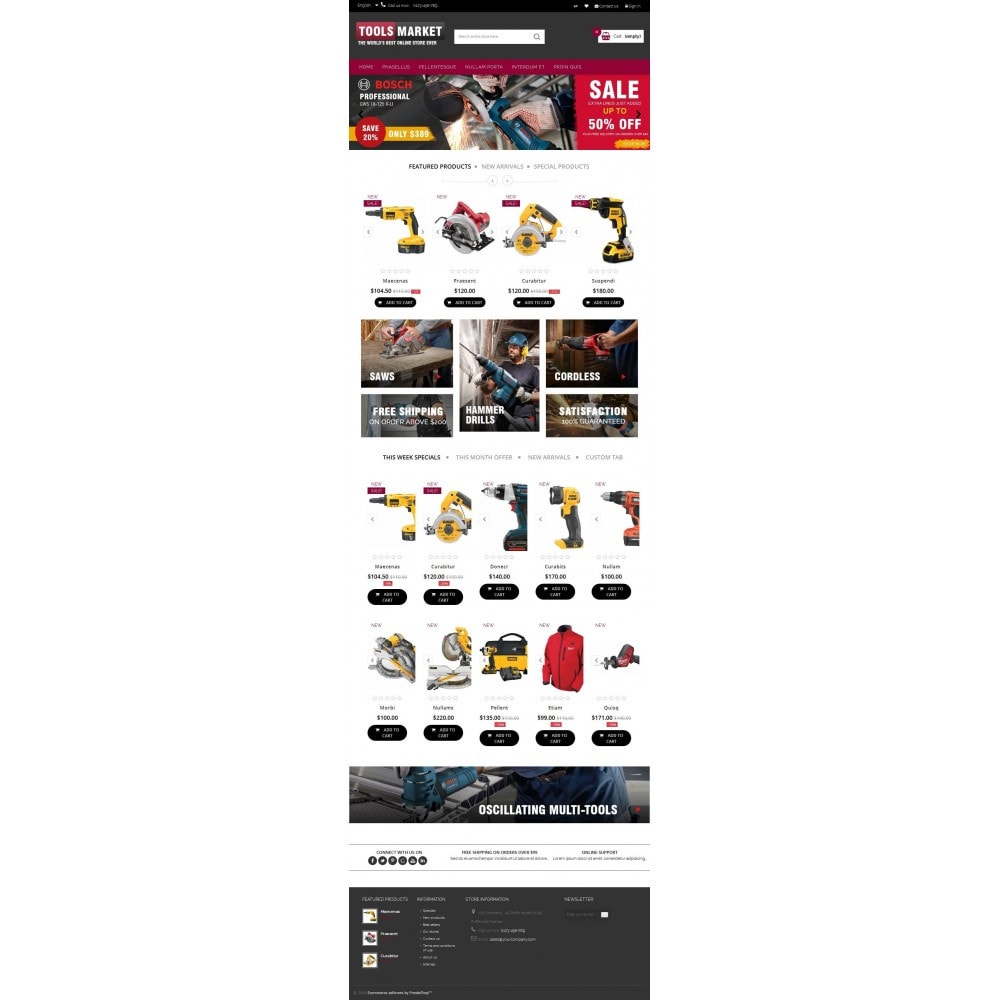 theme - Huis & Buitenleven - Home Tools Market DD001 - 5