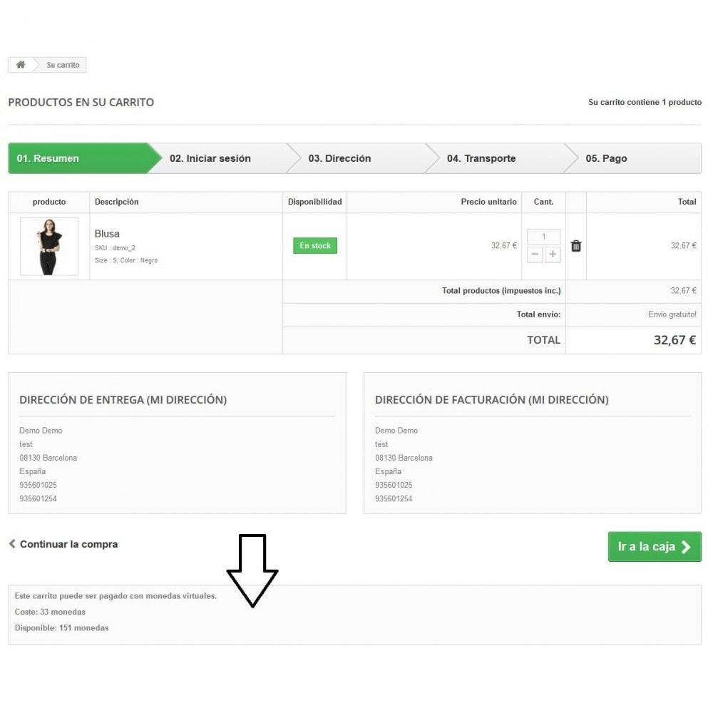 module - Otros métodos de pago - Monedas virtuales - 2