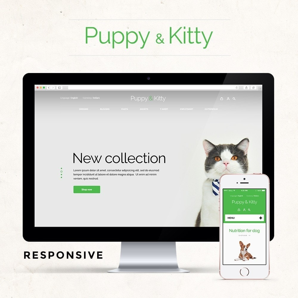 theme - Animali - Puppy&Kitty Pet Shop - 1
