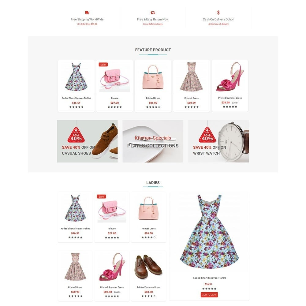 theme - Мода и обувь - Shopzone Fashion Store - 5