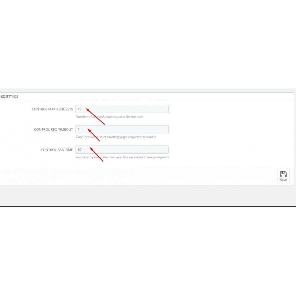module - Seguridad y Accesos - Anti DDoS Attack - 3