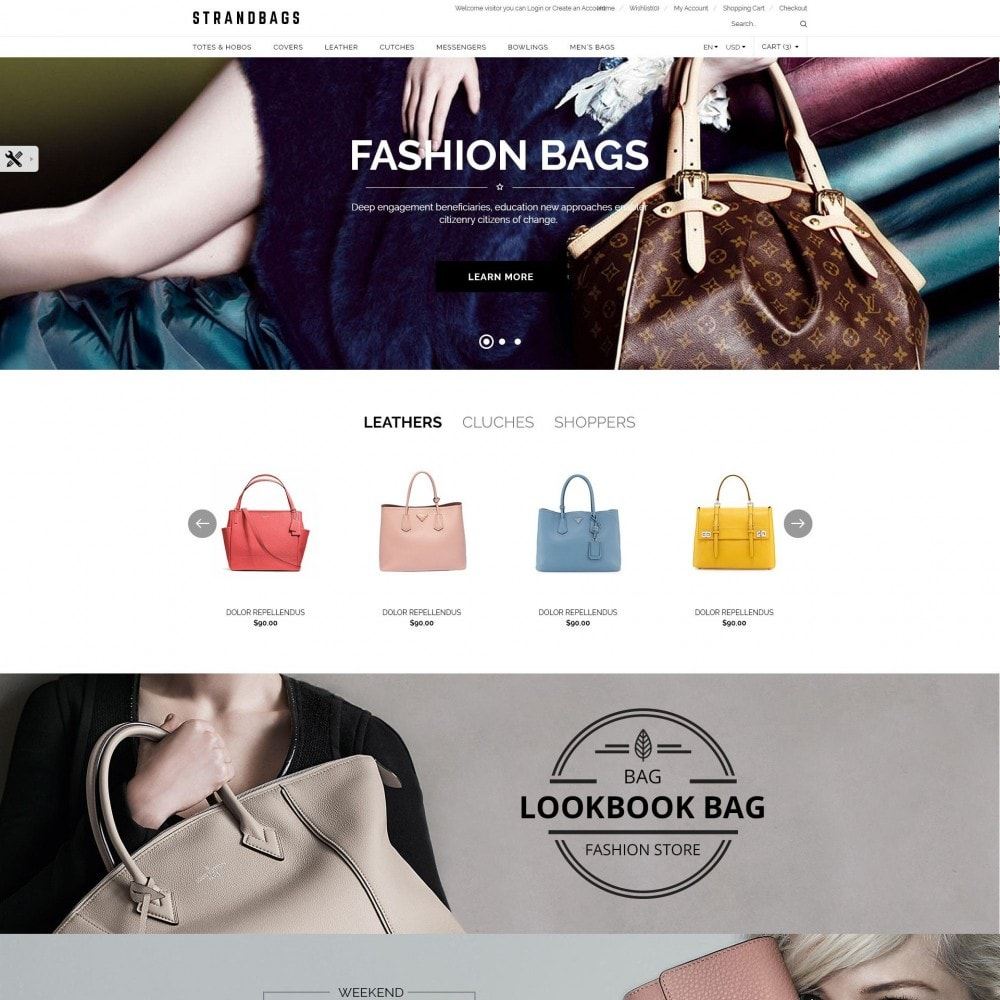 theme - Moda & Obuwie - StrandBags | Bags & Packback Store - 2