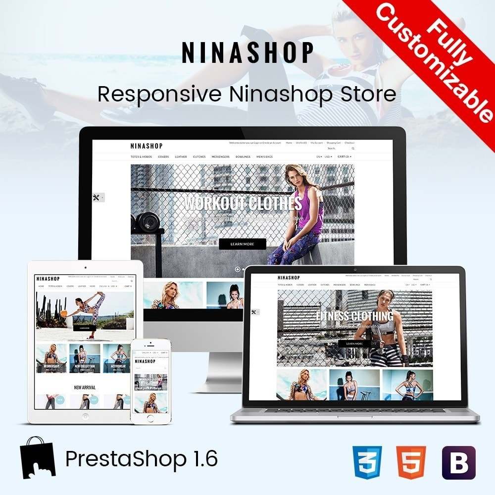theme - Sport, Attività & Viaggi - Ninashop | Sports, Activities & Travel Store - 1