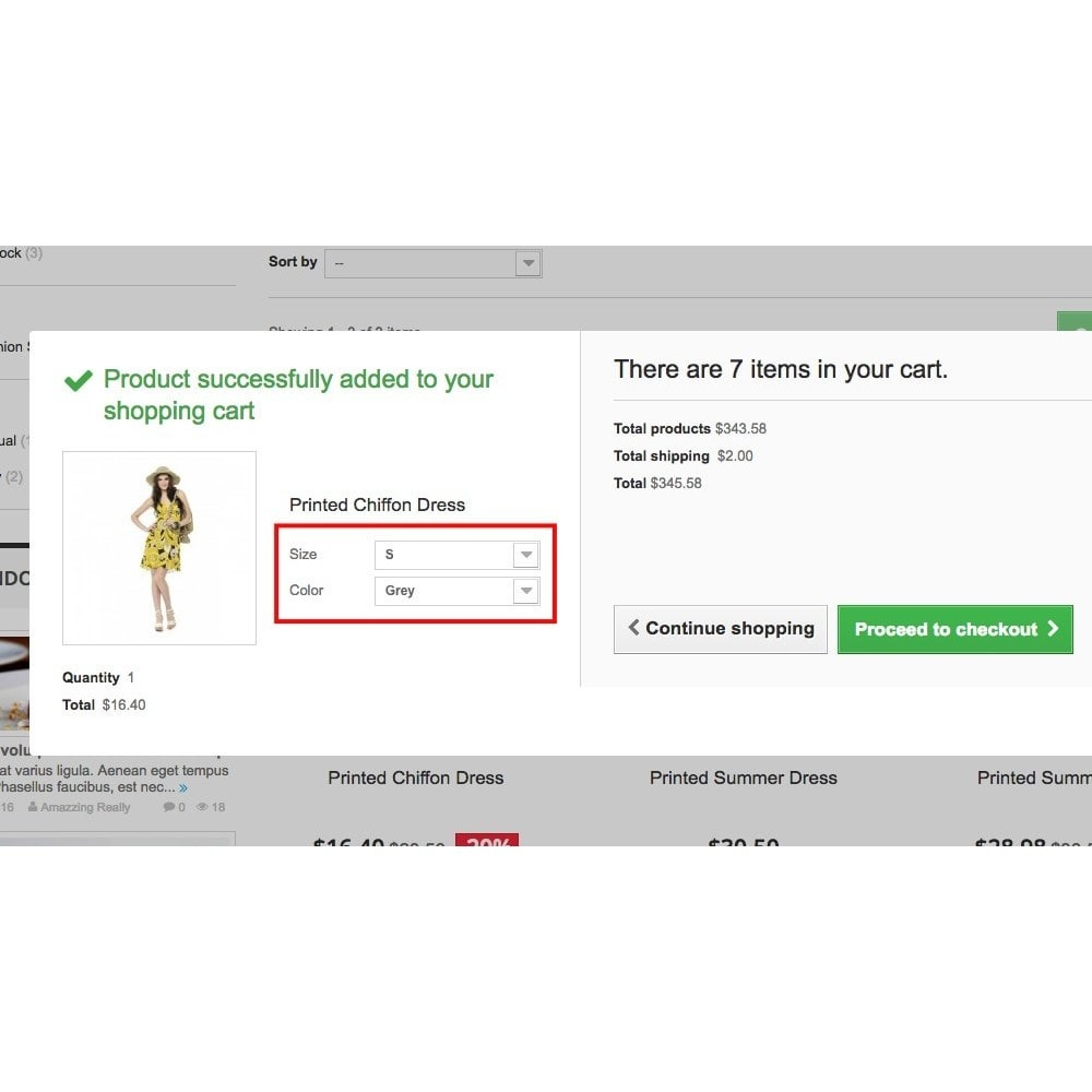 module - Combinations & Product Customization - Dynamic attributes in cart - 3