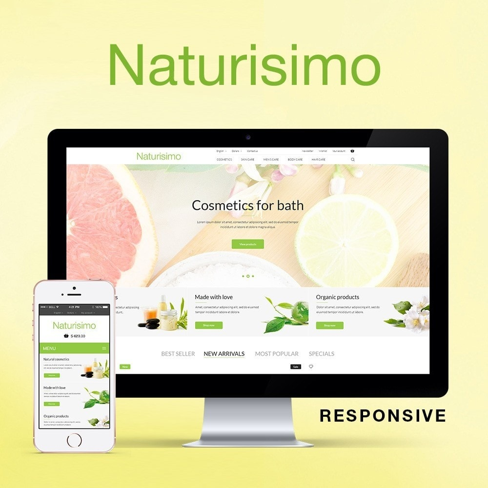 theme - Health & Beauty - Naturisimo - 1