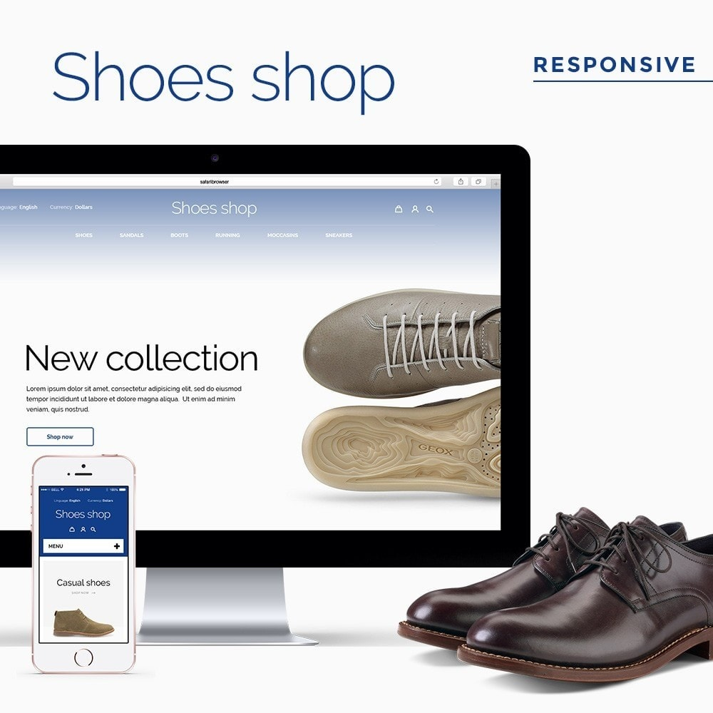theme - Mode & Chaussures - Shoes shop - 1