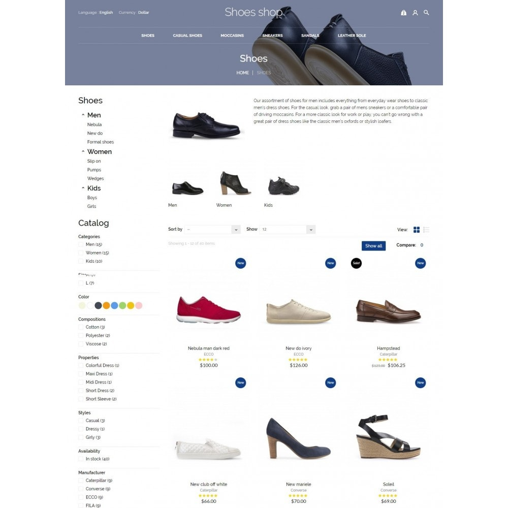 theme - Moda & Calzature - Shoes shop - 6
