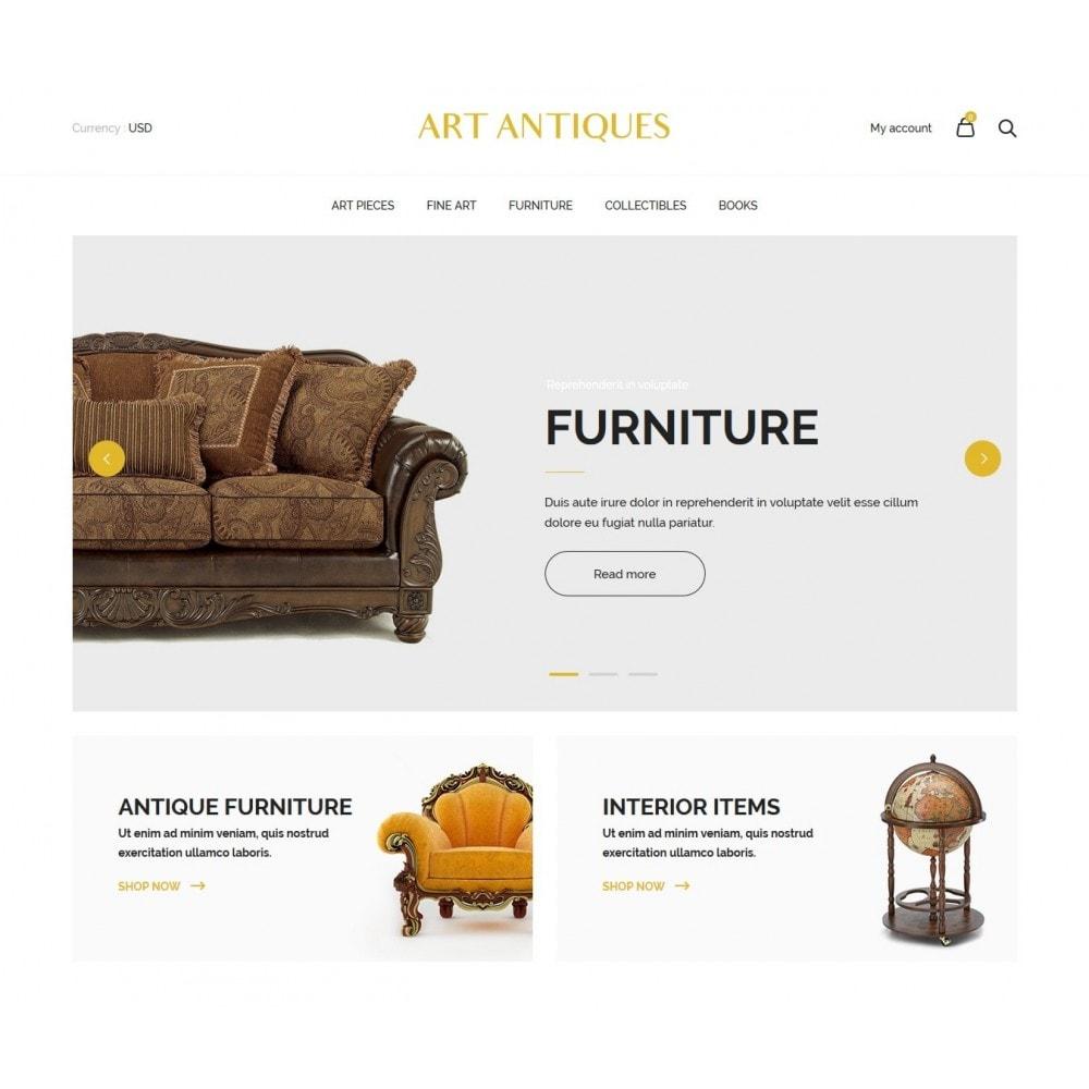 theme - Arte & Cultura - Art Antiqua - 2