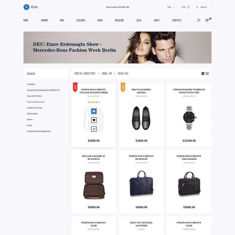 theme - Mode & Chaussures - Milano - Boutique de Vêtements - 3