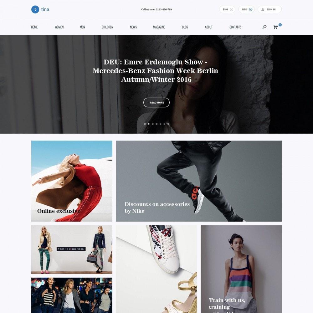 theme - Мода и обувь - Milano - Магазин Одежды - 2