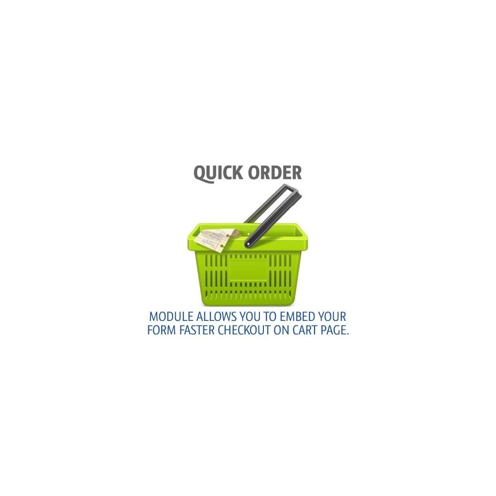 module - Express Checkout - Quick order - 1