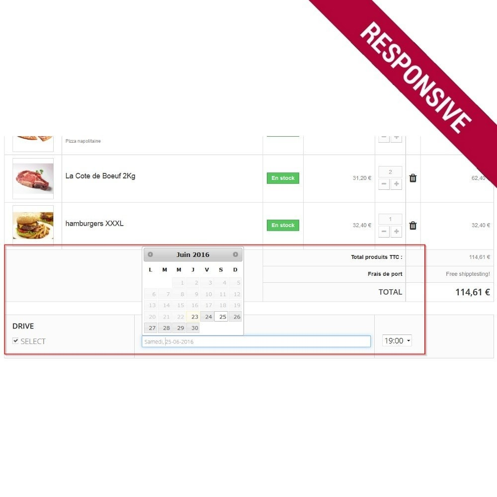 module - Food & Restaurants - [Click and collect] delivery for your shop - 3