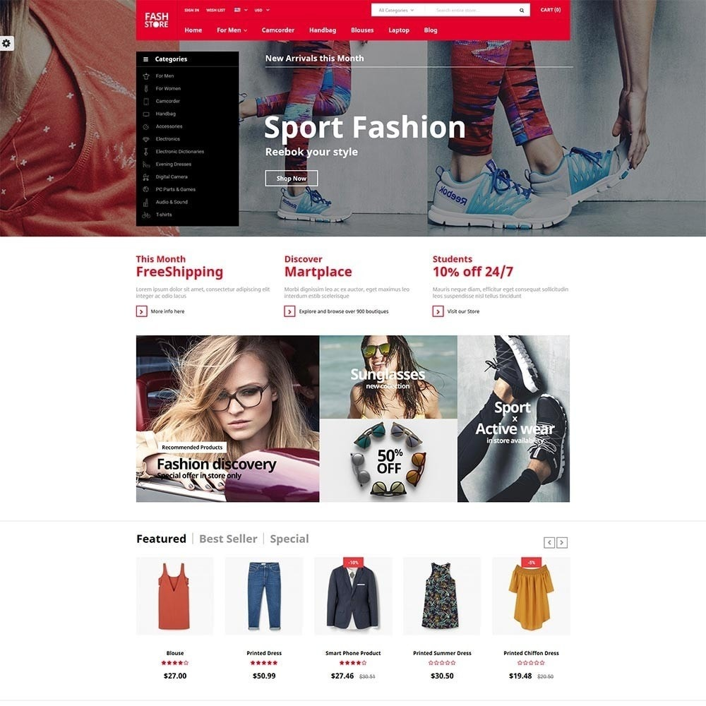 theme - Mode & Schoenen - FashStore - Suppermarket - 2