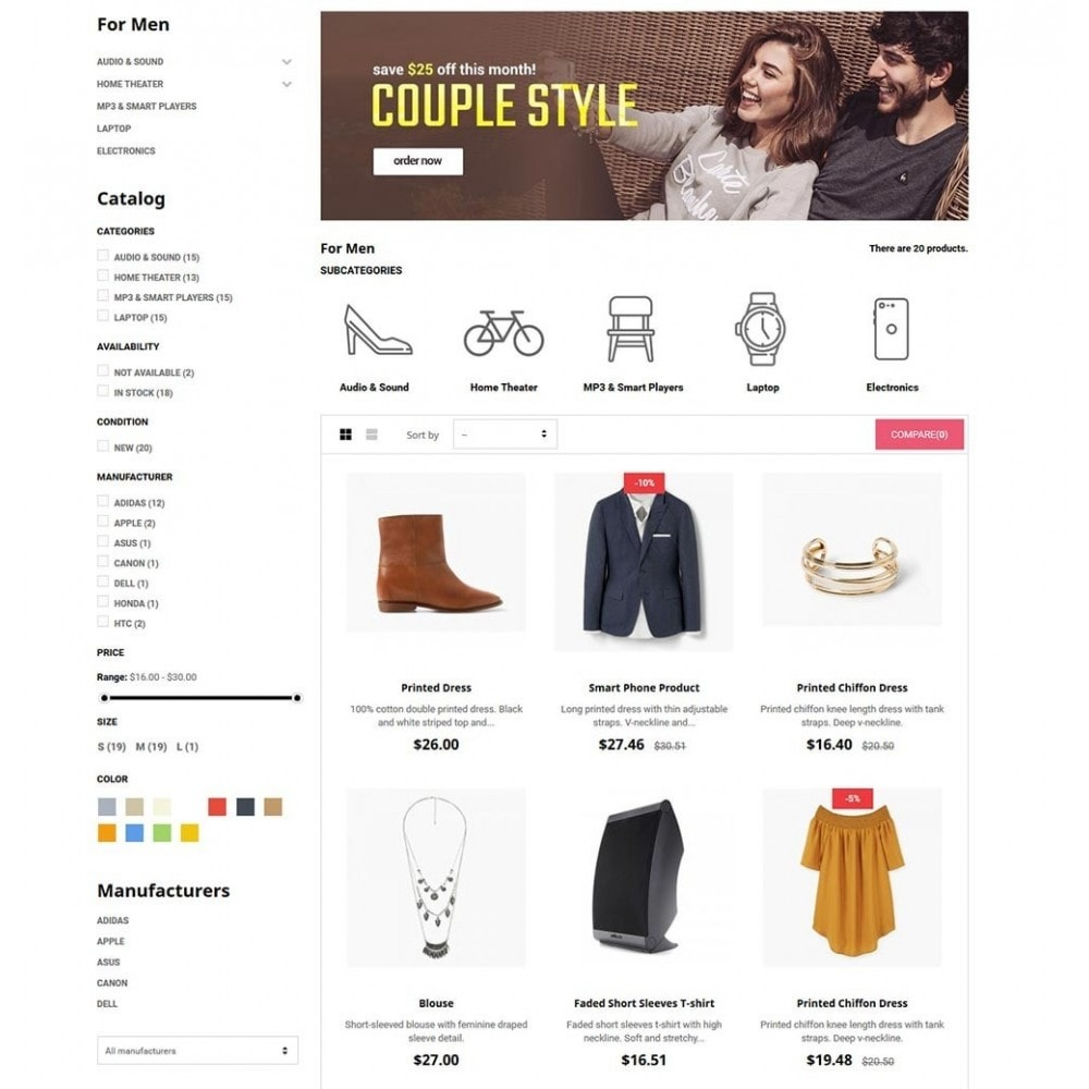 theme - Mode & Chaussures - FashStore - Suppermarket - 5
