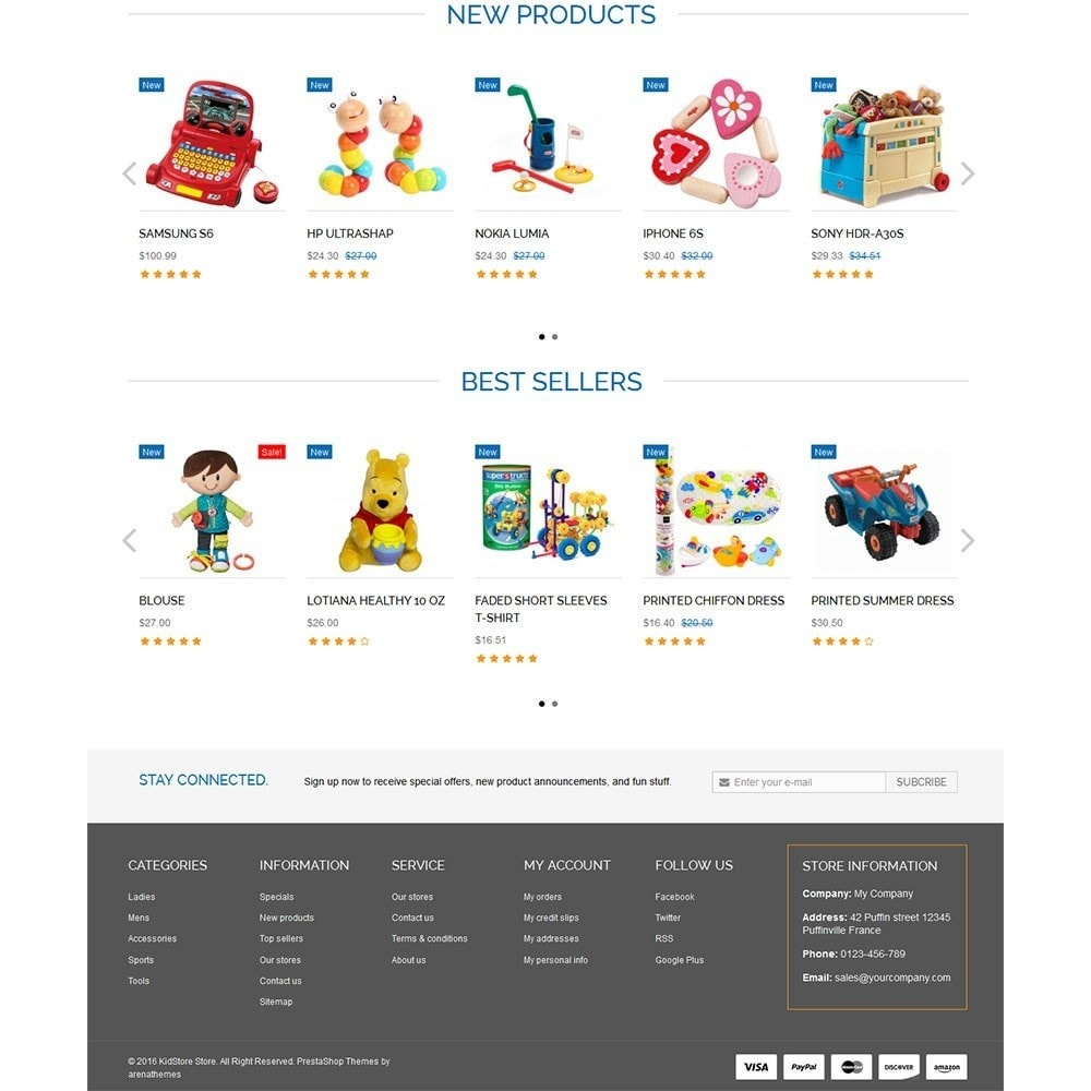 theme - Kids & Toys - Baby Kid Store - 3