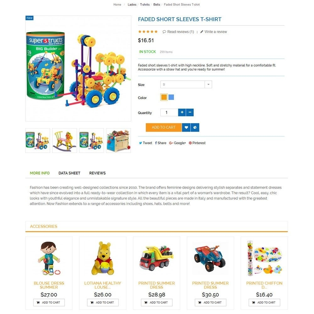 theme - Kids & Toys - Baby Kid Store - 5