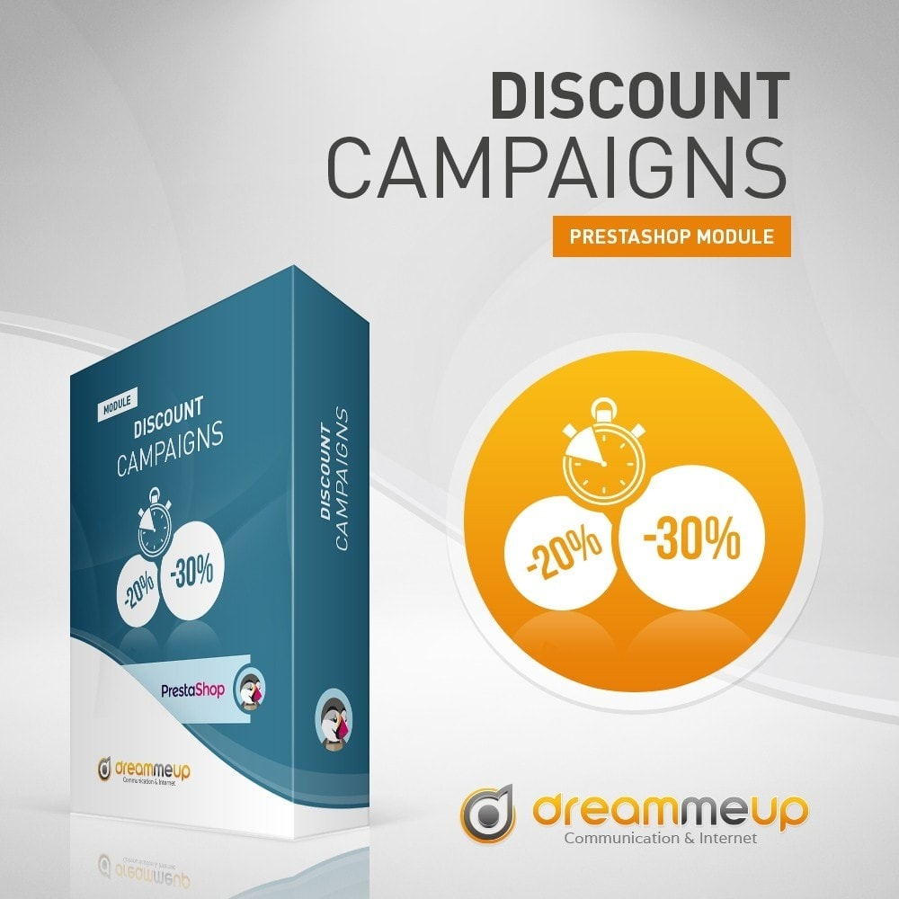 module - Promotions & Gifts - DMU Discount campaigns - 1