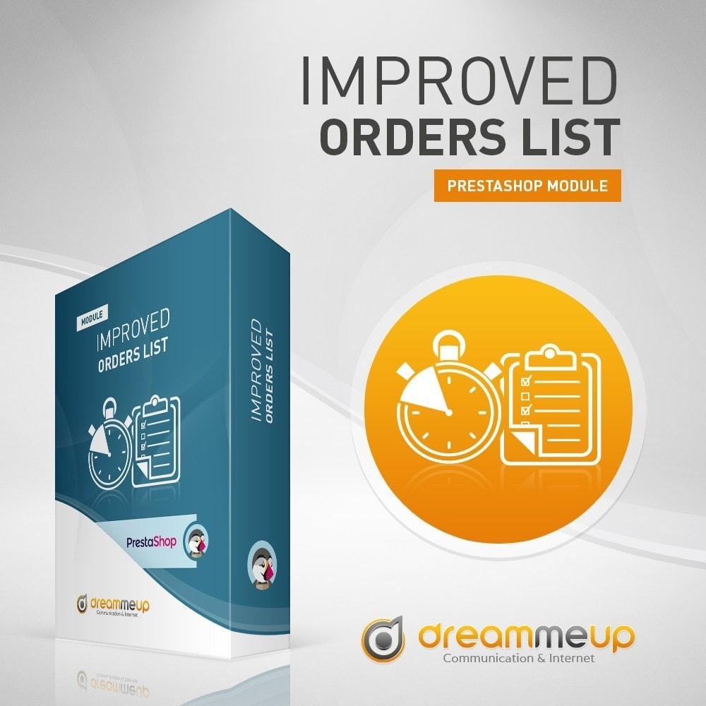 module - Gestión de Pedidos - DMU Improved Order List - 1
