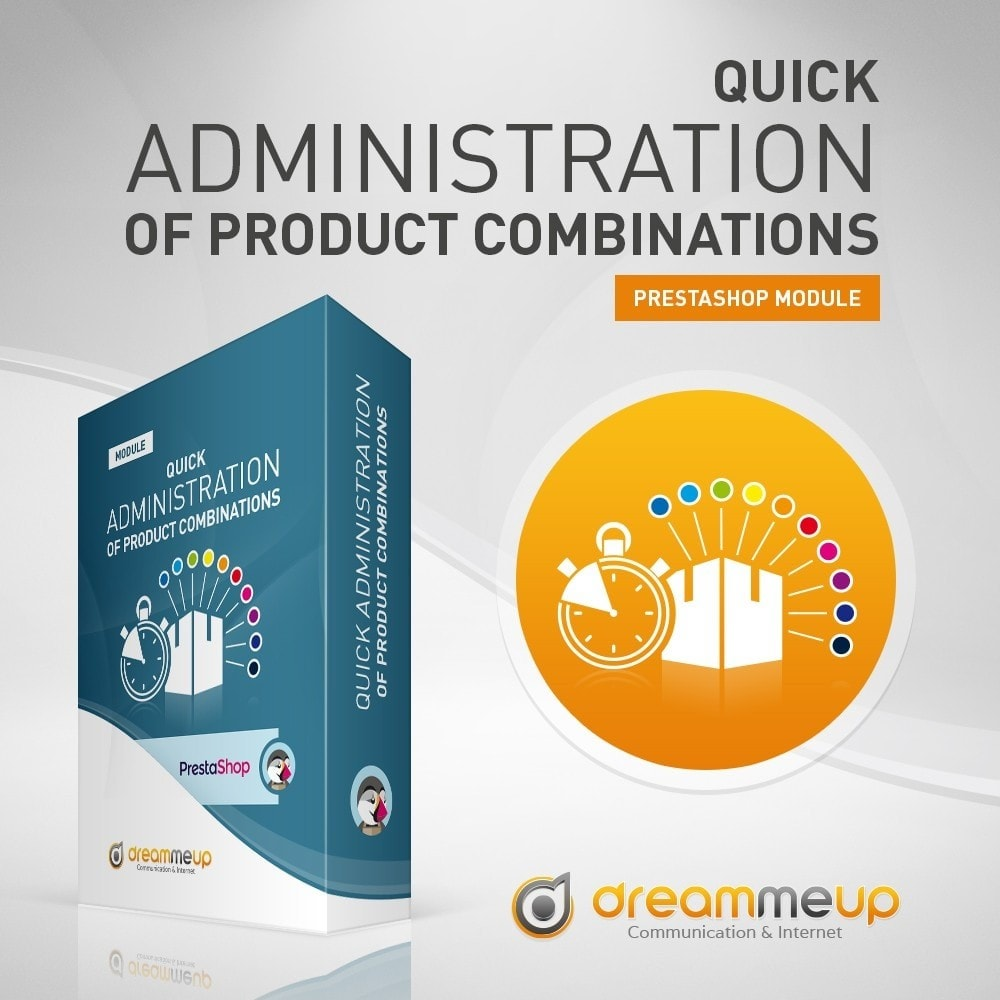 module - Herramientas Administrativas - DMU Quick administration of Product combinations - 2