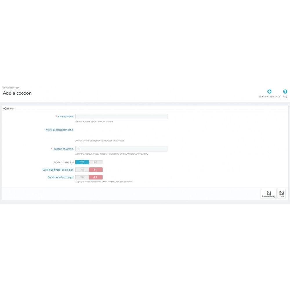 module - SEO (Posicionamiento en buscadores) - Semantic Cocoon - 2