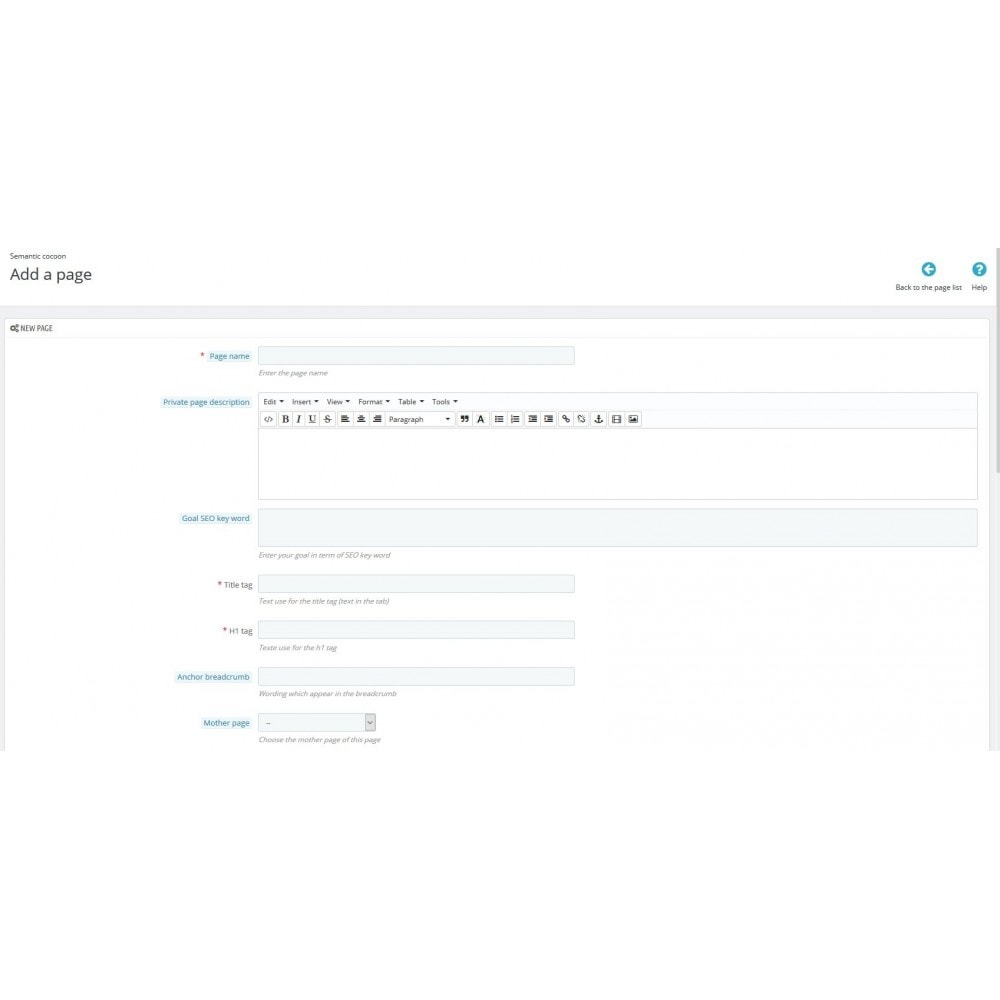 module - Естественная поисковая оптимизация - Semantic Cocoon - 4