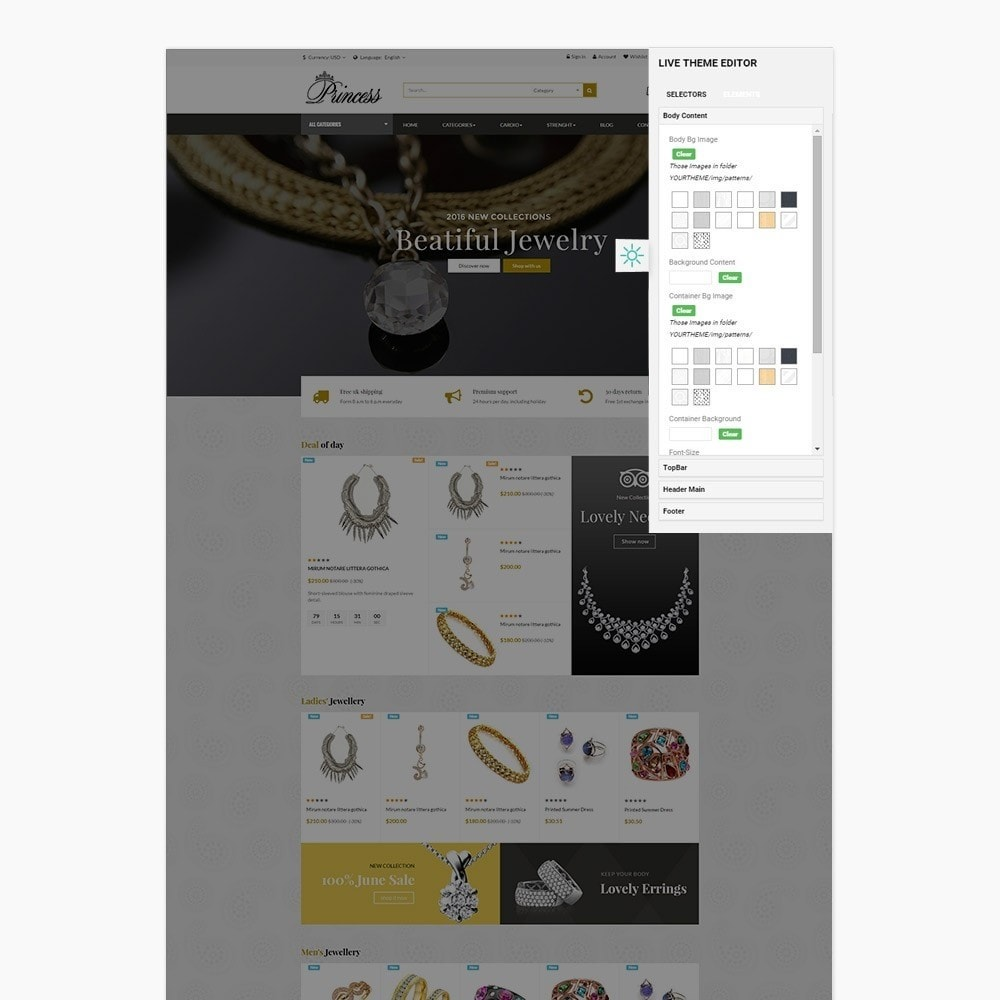 theme - Bijoux & Accessoires - Ap Princess - 2