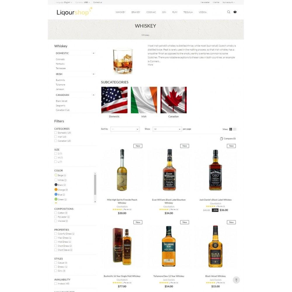theme - Bebidas & Tabaco - Liquor Shop - 5