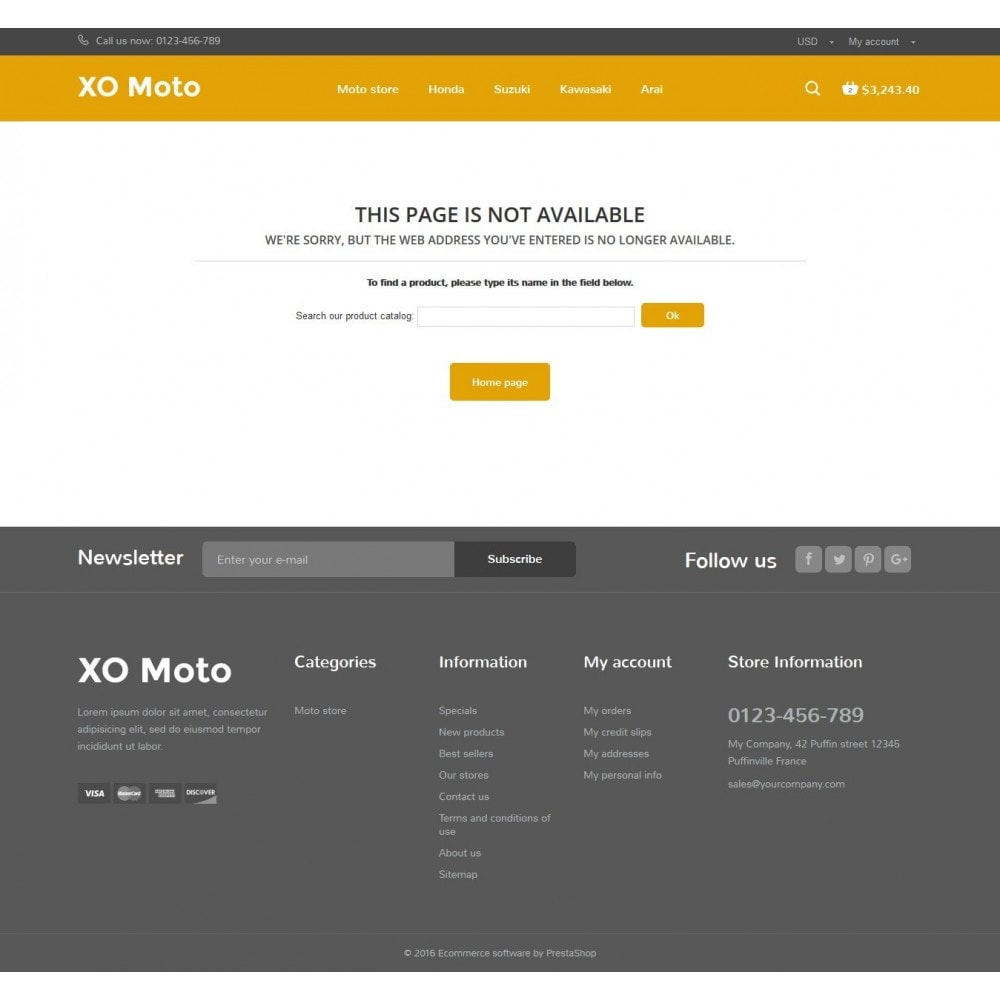 theme - Automotive & Cars - XO moto - 10