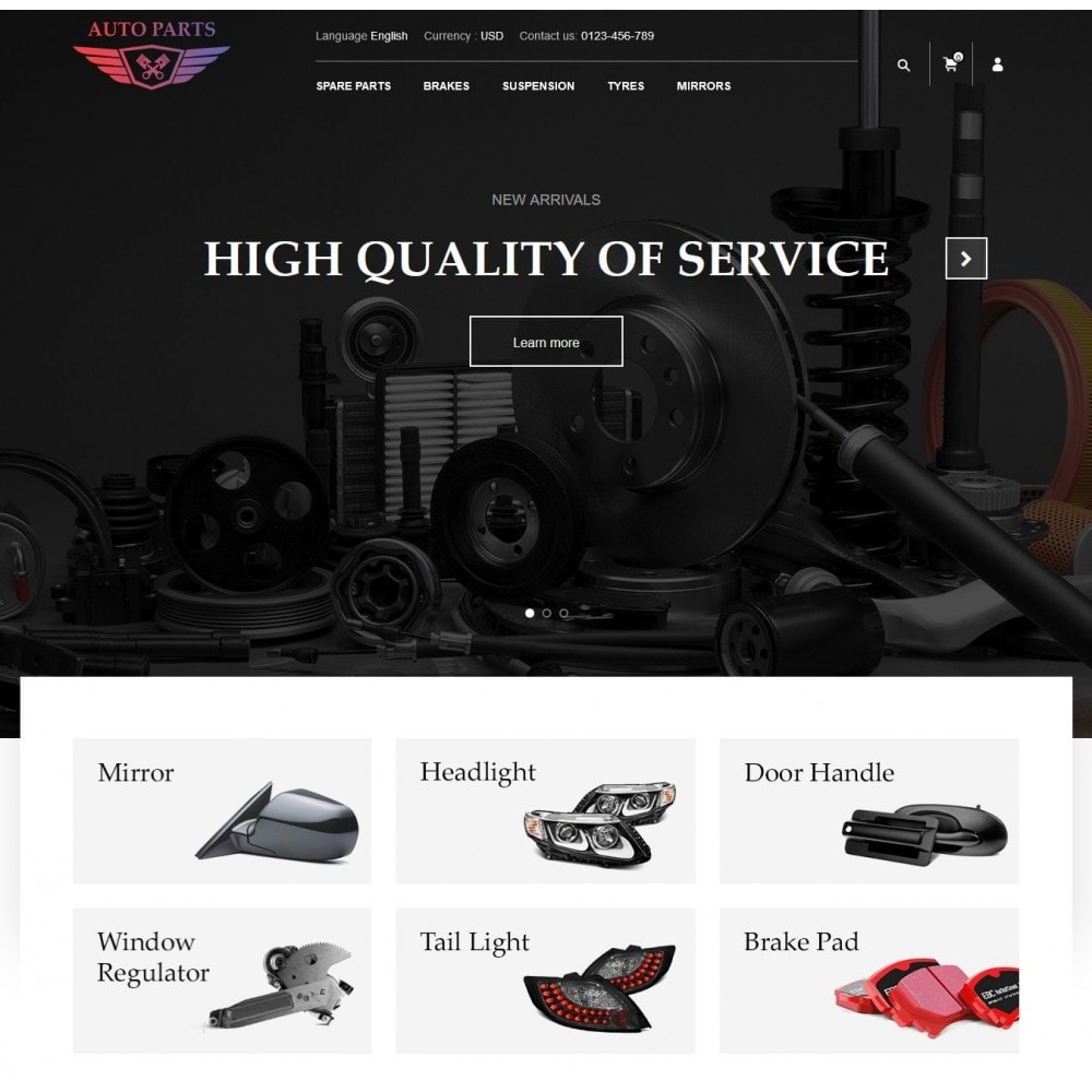 theme - Carros & Motos - AutoParts Store - 2