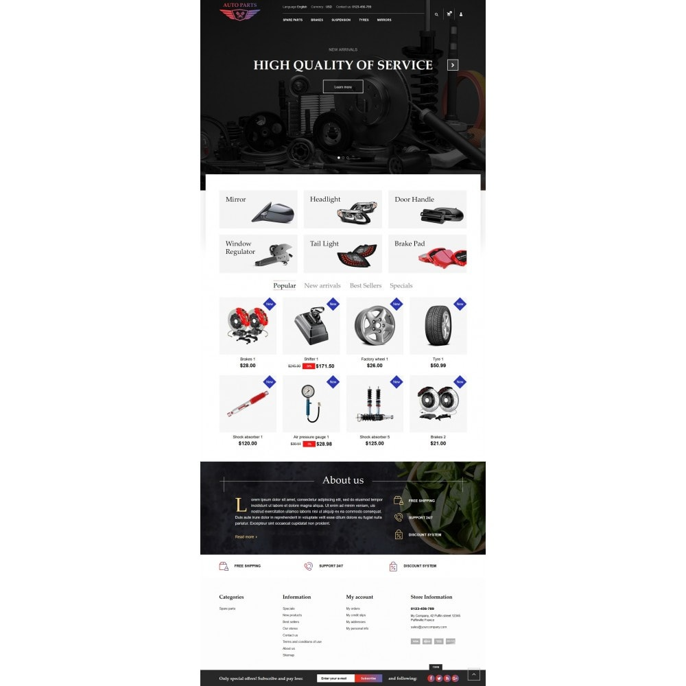 theme - Carros & Motos - AutoParts Store - 4