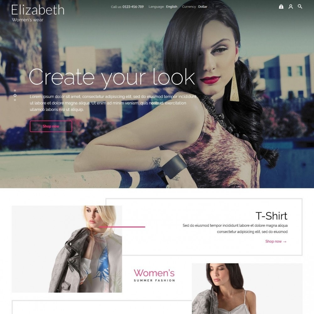 theme - Moda & Calzature - Elizabeth Fashion Store - 3