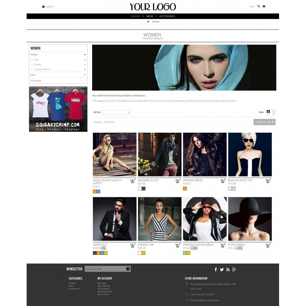 theme - Fashion & Shoes - Nimble Grid Theme - 3