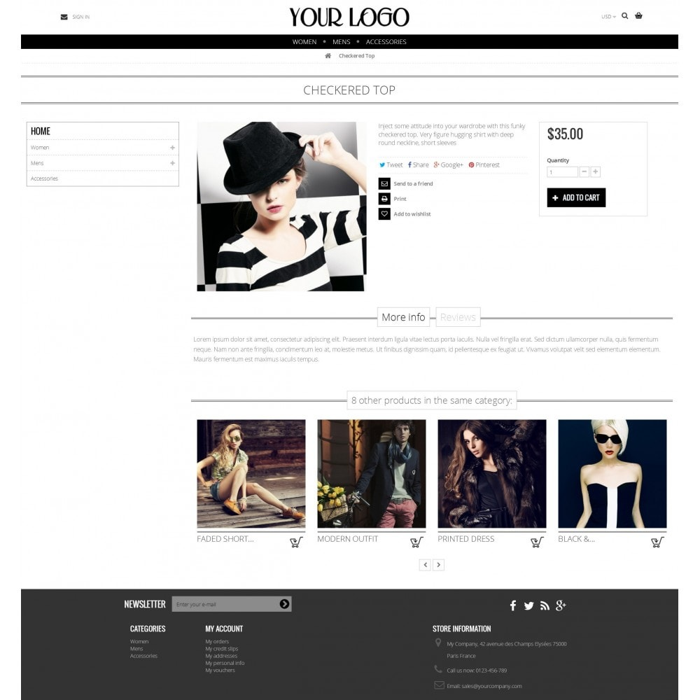 theme - Fashion & Shoes - Nimble Grid Theme - 4