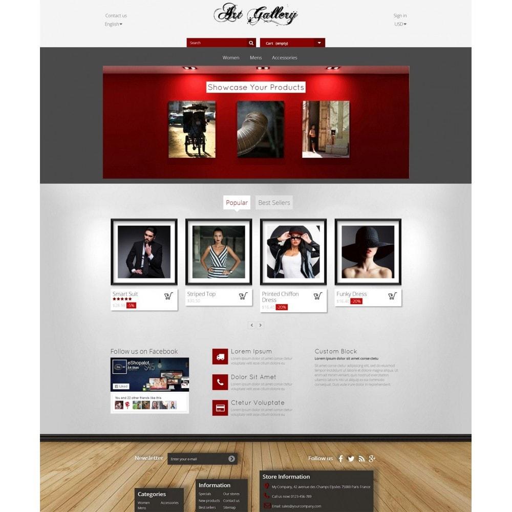 Art Gallery - Fotografía y Pintura