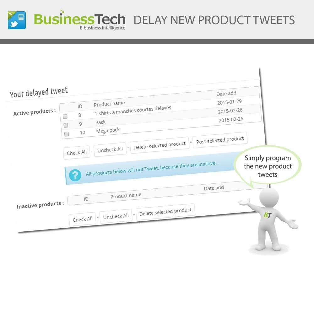 module - Products on Facebook & Social Networks - Twitter Cards + Automatic Product Tweets - 7
