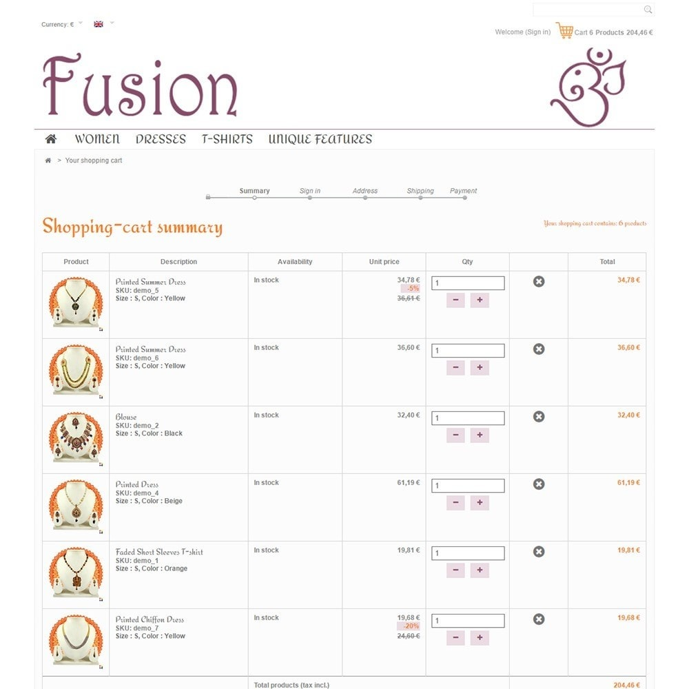 theme - Jewelry & Accessories - Fusion - 5
