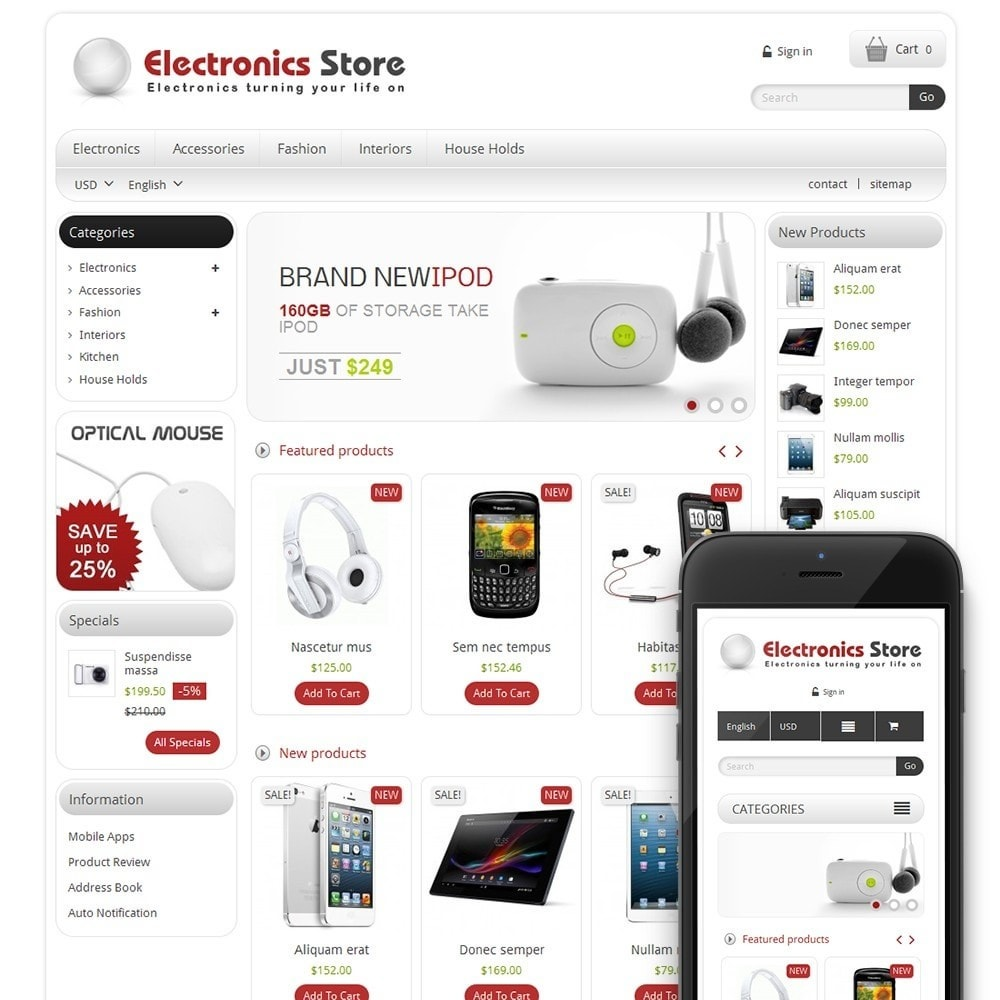 TM Electronics & Computer Store
