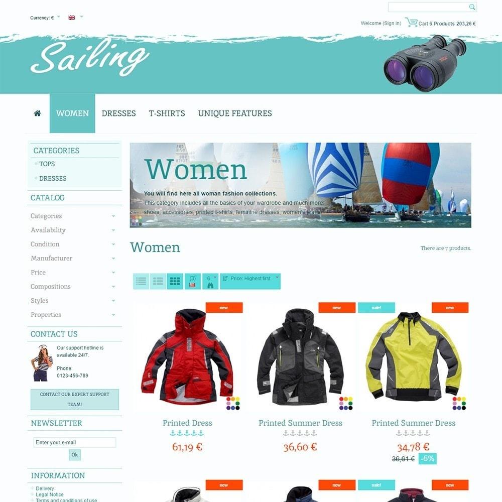 theme - Deportes, Actividades y Viajes - Sailing - 3