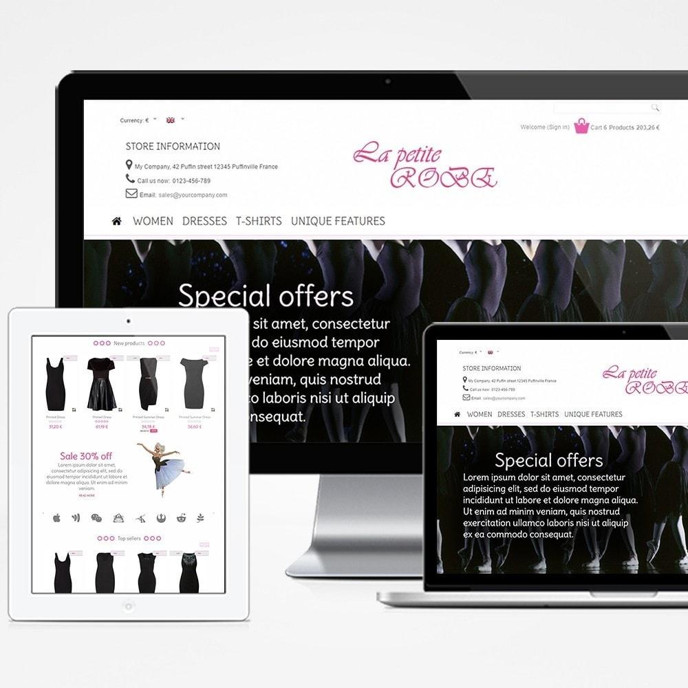 theme - Fashion & Shoes - La Petite Robe - 1
