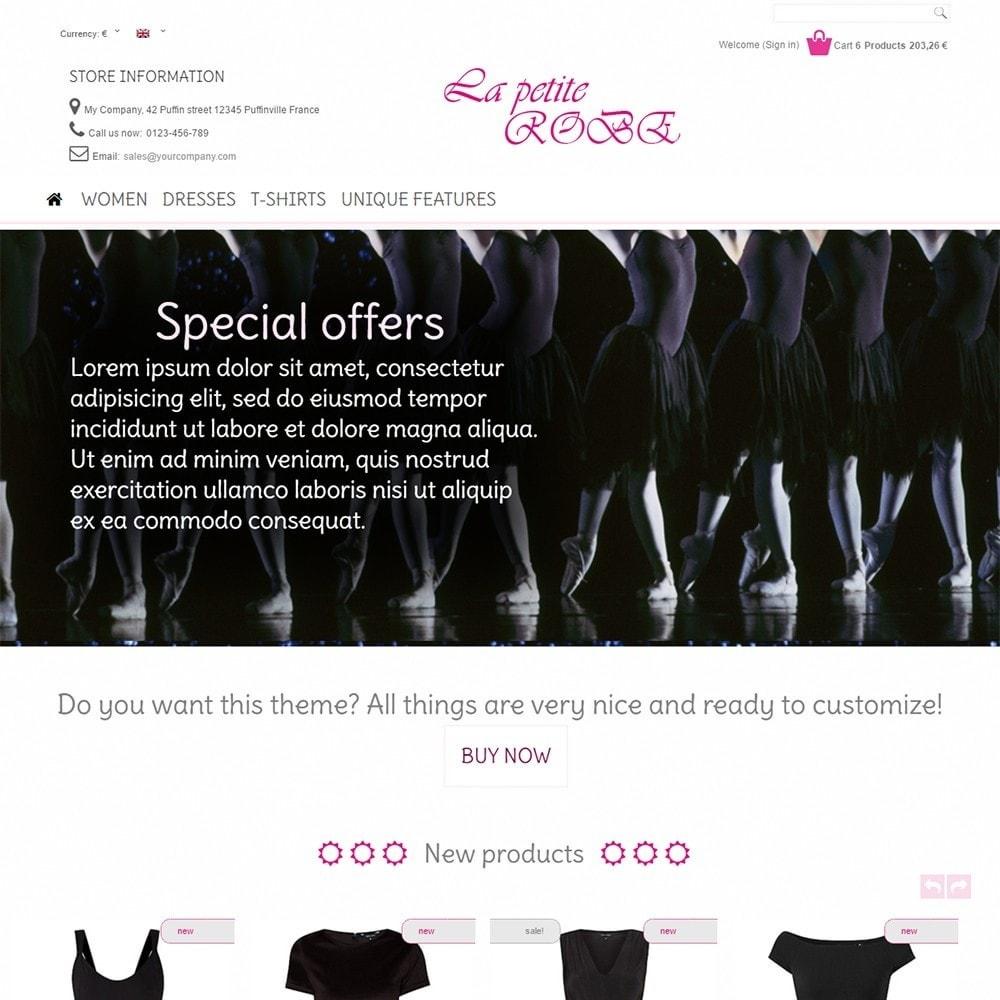theme - Fashion & Shoes - La Petite Robe - 2