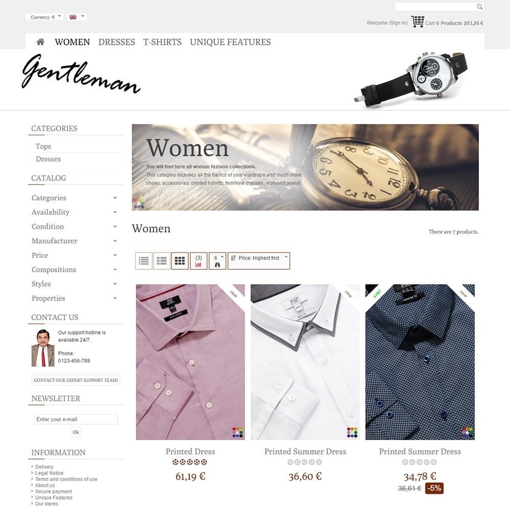 theme - Moda & Calzature - Gentleman - 3