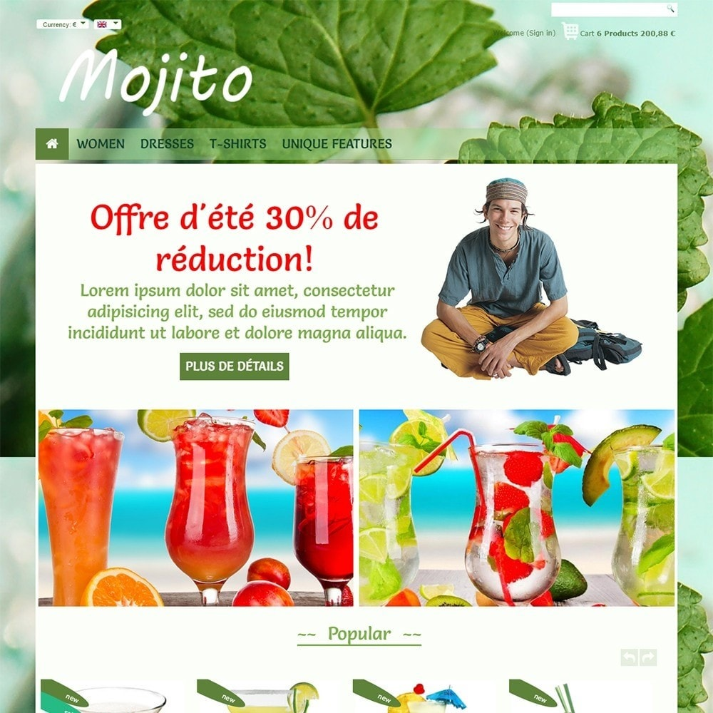 theme - Bebidas y Tabaco - Mojito - 2