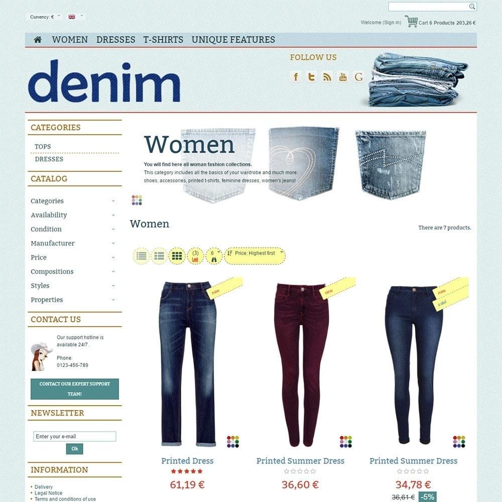 theme - Mode & Schoenen - Denim - 3