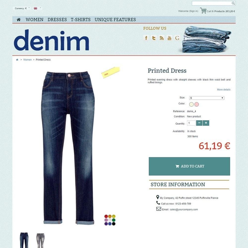 theme - Mode & Schoenen - Denim - 4
