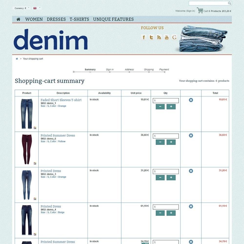 theme - Mode & Schoenen - Denim - 5