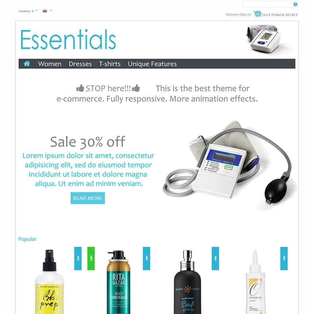 theme - Health & Beauty - Essentials - 2